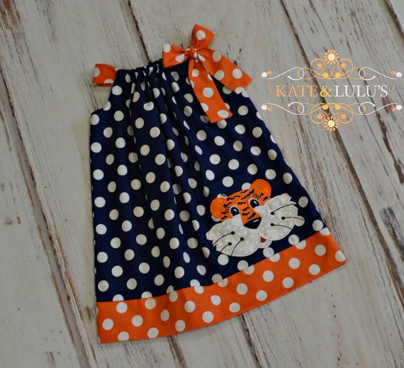 Auburn Game Day Dress  Auburn Tigers football by KateandLulu