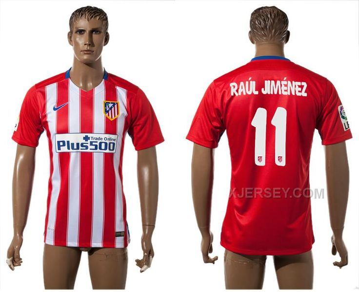 http://www.xjersey.com/201516-atletico-madrid-11-raul-jimenez-home-thailand-jersey.html Only$35.00 2015-16 ATLETICO MADRID 11 RAUL JIMENEZ HOME THAILAND JERSEY #Free #Shipping!