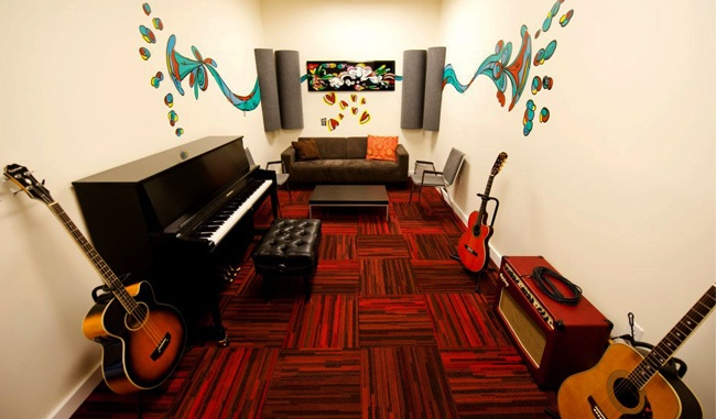 I'd to have my own music room/studio in my house :)