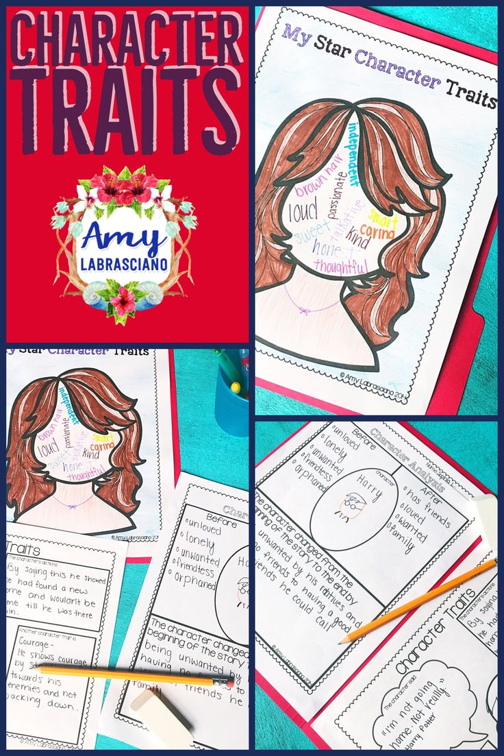This character traits unit contains a self-portrait activity as well as a few character analysis activities. It is a great way to teach self-worth and character analysis to your 2nd, 3rd, 4th, or 5th grade classroom and homeschool students. This no prep printable worksheet asks students to write an example of character traits and to complete a character analysis and then draw a picture. It's great for review, literacy centers, test prep, and MORE! {second, third, fourth, fifth}