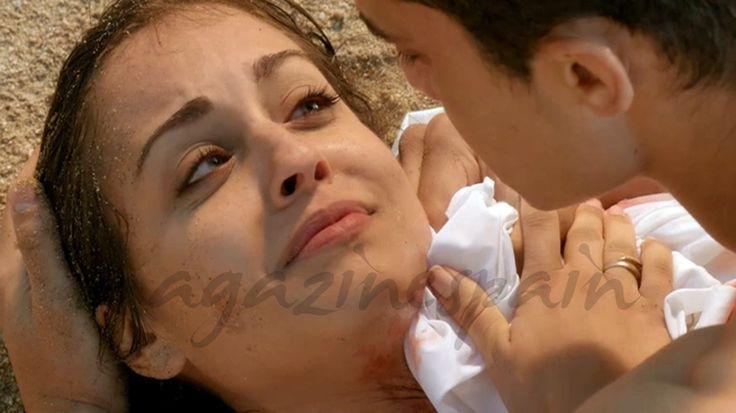 El Príncipe, trágico final: El último beso de Fátima y Morey Hiba Abouk, Alex González - El Príncipe- © Telecinco
