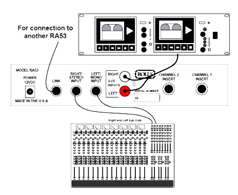 RA53 Stereo Headphone Amplifier Connection Schematic ~ ELECTRONICS SOLUTION