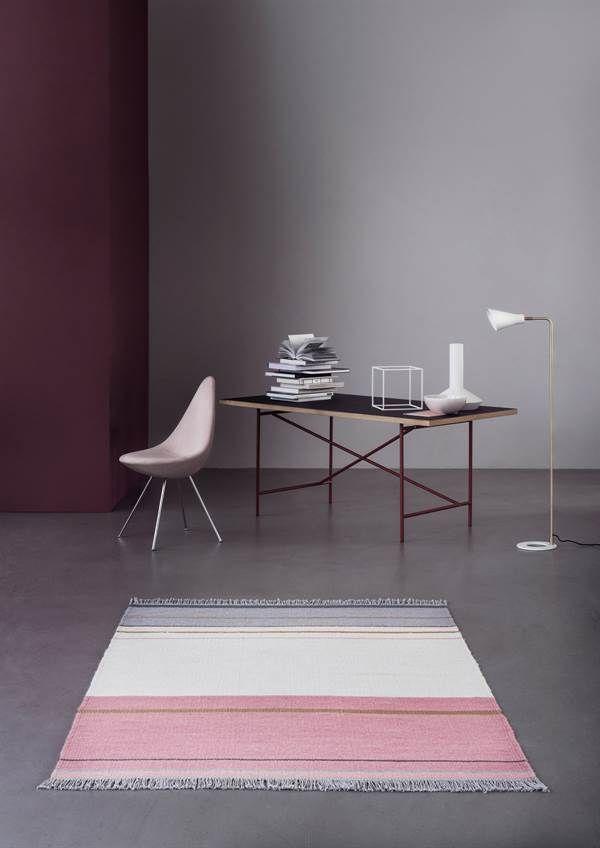 Alfombra de lana METALLUM, de la colección Essentials de Linie Design, tejida a mano. Distintos colores y medidas.
