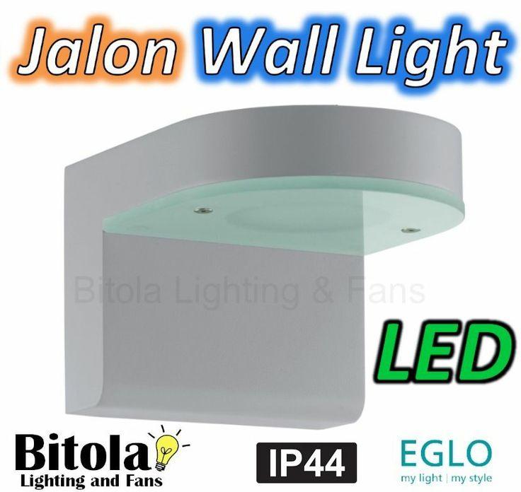 EGLO JALON LED OUTDOOR WALL LIGHT 12.5w CAST ALUMINIUM IP44 RATED EXTERIOR