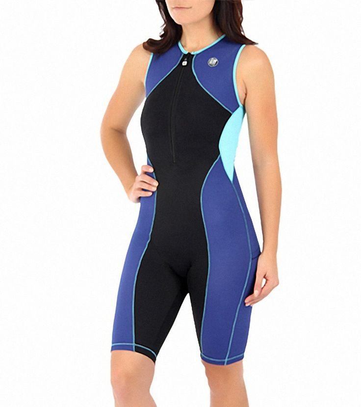 DeSoto Women's Forza Riviera Trisuit with Compression at SwimOutlet.com - The Web's most popular swim shop