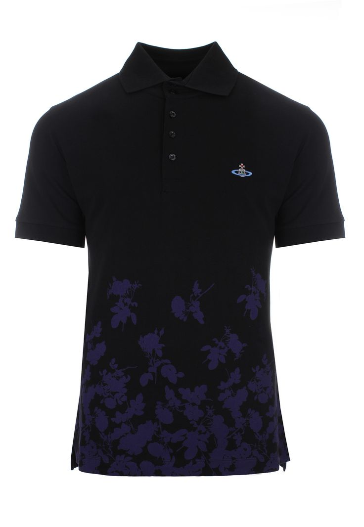 Vivienne Westwood MAN Absence Of Roses Piquet Polo Shirt