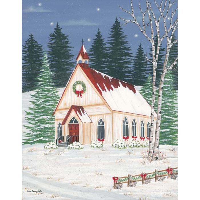 Painting Church In Snow Religious Christmas Ceramic: 66 Best Painting Ideas -Winter Images On Pinterest