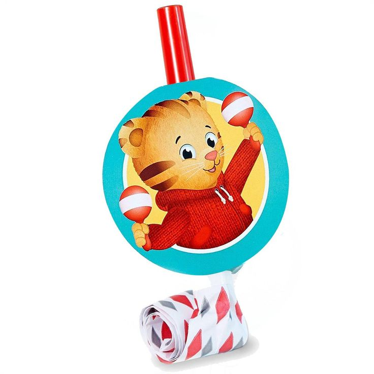 8 Daniel Tiger Party Favor Blowouts