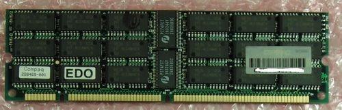 64MB-SIMM-Speichermodul - ECC-Parity  Gebraucht, technisch OK  hier ab 1,--€  Techn. Daten: Speichertyp FPM-EDO-DRAM (Fast page Mode) Gesamtkapazität 64MB - 36 Bit Breite Anzahl der Module 1 Formfaktor SIMM 168-pol. Kompatibel zu Proliant Pro 2500 1600 3000 5500 6000 7000 - Alternative zu 317745-001