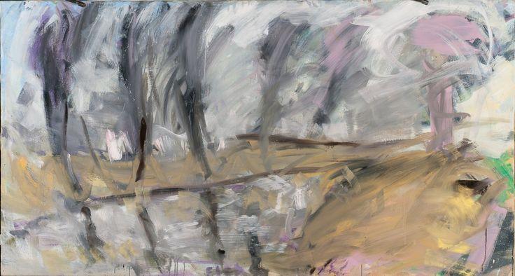 Tomáš Bambušek | Na Jarunce, 200x108cm, olej na plátně, 2013. horní Ohře #madeinBUBEC