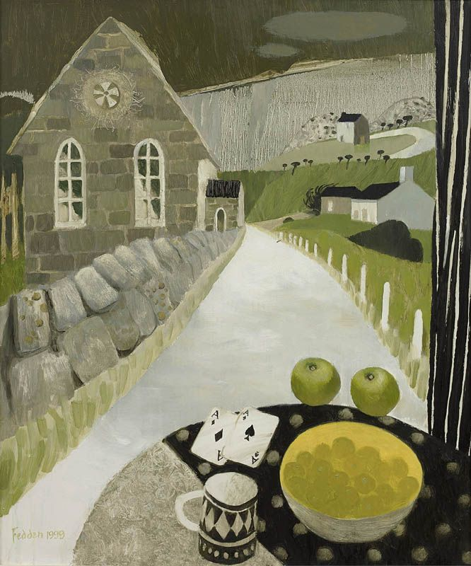 Mary Fedden | Still Life with Church