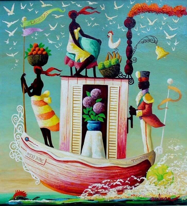 """""""La Barque Dites Donc"""" by Orville Bulman"""