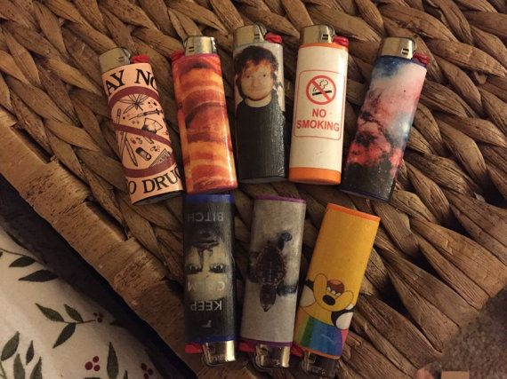 Request your own custom bic lighter by ChloesCoolCustoms on Etsy