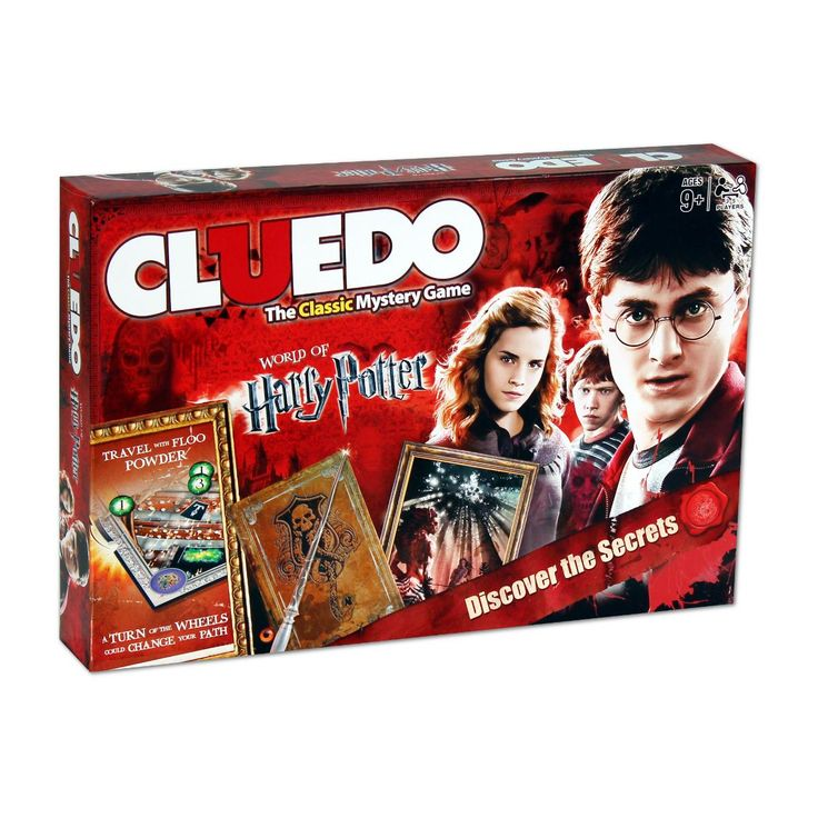 Harry potter cluedo mystery board game winning moves