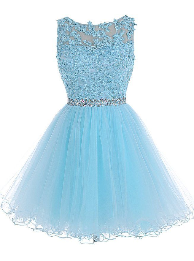 Pale blue dress size 8 real name