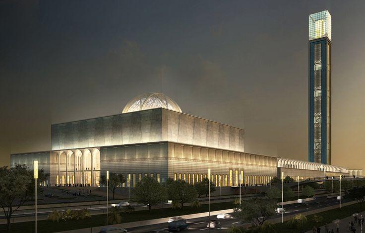 Große Moschee in Algier - KSP Jürgen Engel Architekten