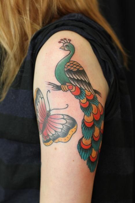Peacock Salvation Tattoo