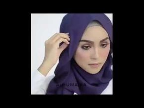 Hijab Tutorial - 16 Model Hijab 2017 Alhumaira