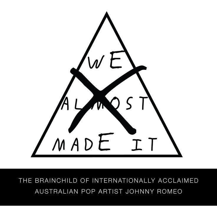 Introducing WE MADE IT; full of brash, colourful designs, the brand captures the urgency of youthful rebellion and the larger-than-life flare of Pop Culture.  Stay tuned for exciting pop-up shows and events that showcase prints and merchandise of Johnny Romeo and likeminded creative forces.  #wemadeitshop