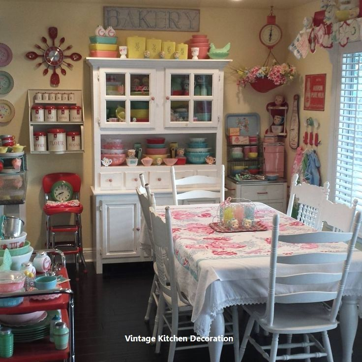 New Diy Vintage Ideas For Kitchen Decor Shabby Chic Home