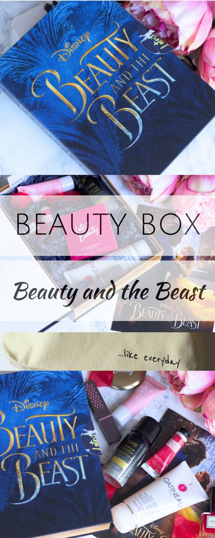 The Beauty and the Beast Beauty Box ♥️