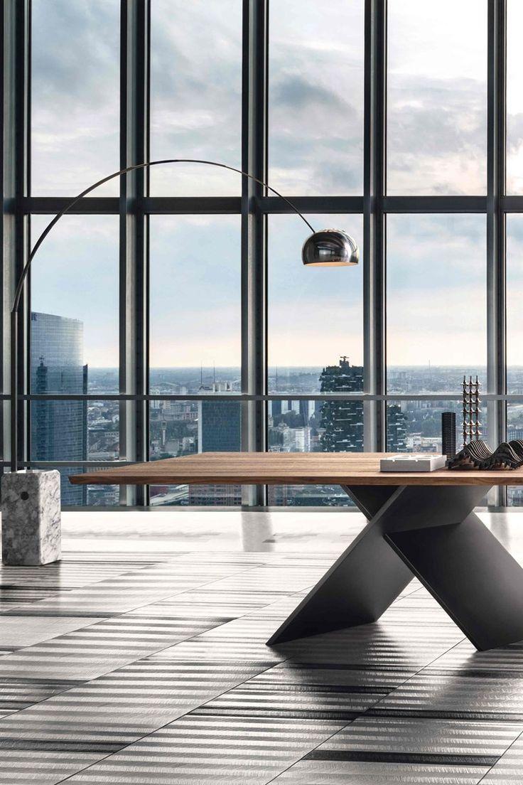 Fesselnd Rechteckiger Tisch Aus Holz AX | Tisch Aus Holz By Bonaldo