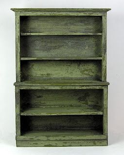 miniature bookcase tutorial & pattern - also some other how-to's further down the page.