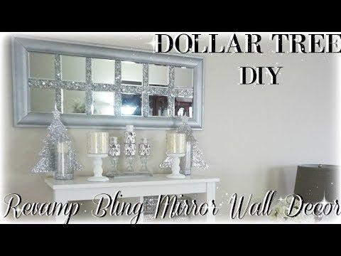 31 Diy Bling Revamp Mirror Wall Decor Dollar Tree Art Home You