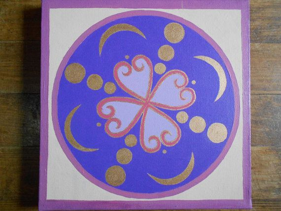 Original Mandala design by Jolene Will par ForestElvenCreations, £50.00