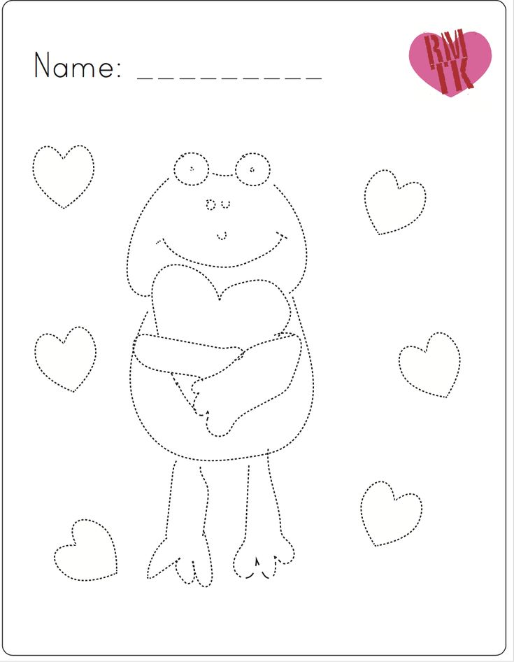 Frog for Valentine's Day! FREE! #valentinesday #