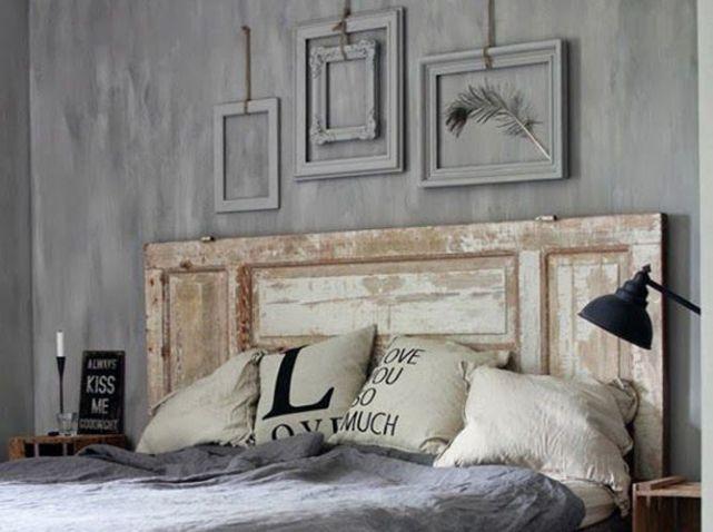 Porte ou persienne, offrez une 2e vie à vos objets ! Crédit photo : Pinterest / maison-deco.com