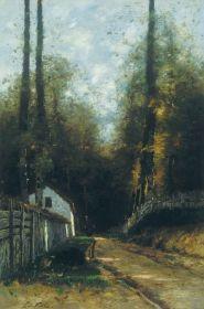 Paál László - Hajnal az erdőben, 1875