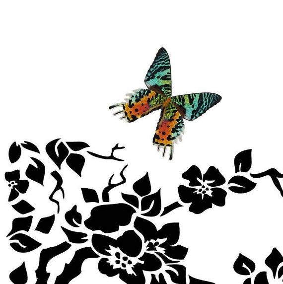 P Moth Decorator 20 best Paper Butterfl...