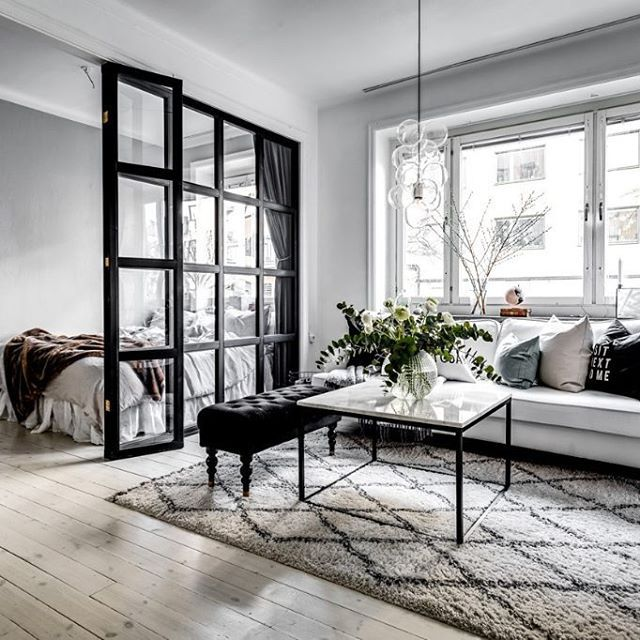 Small Grey Scandinavian Apartment   Gravity Home