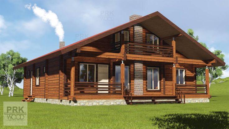 Раскидистый дом #Шале, отлично подходит для загородной уютной жизни, больше фасадов и планы смотри на сайте