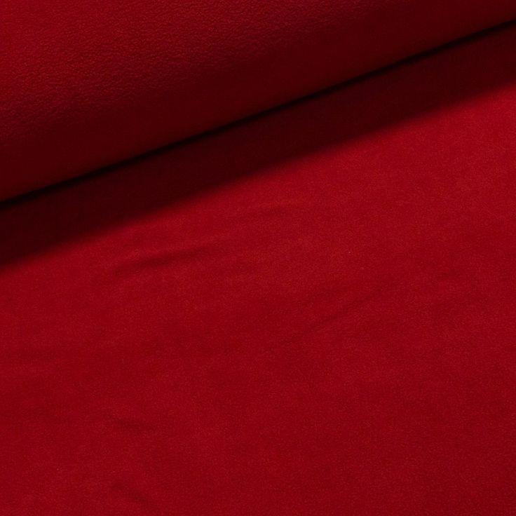 Fleece (flís) 441 jednobarevná uni červená, š.150cm (látka v metráži) | Internetový obchod Chci Látky.cz