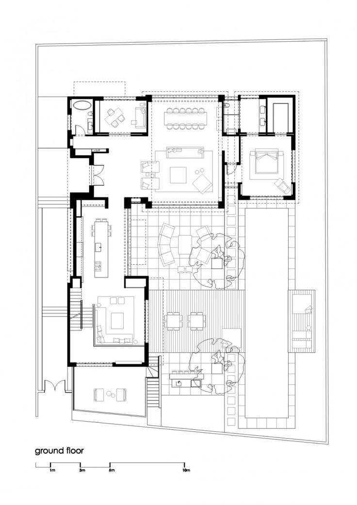 Best Floor Plan Images On Pinterest Architecture Ground - Contemporary purity and simplicity pool villa by jm architecture italy