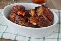 Costine di maiale al forno ricetta secondo piatto, succulente e saporite con una cottura lenta, il segreto per renderle tenerissime.