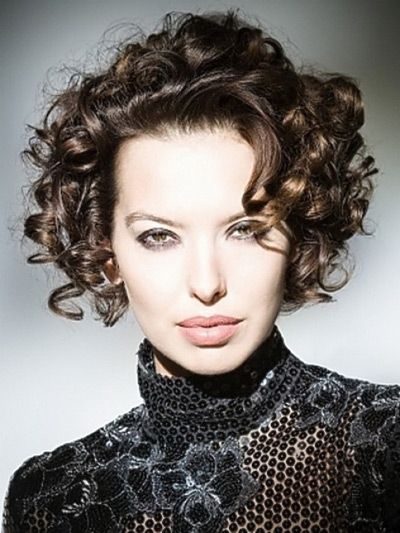 curled bob hairstyle ideas