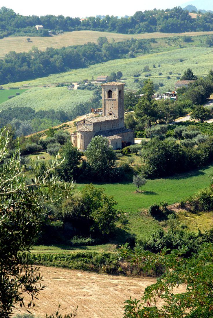 Panoramica sulla Chiesa di S. Marco  #marcafermana #ponzanodifermo #fermo #marche