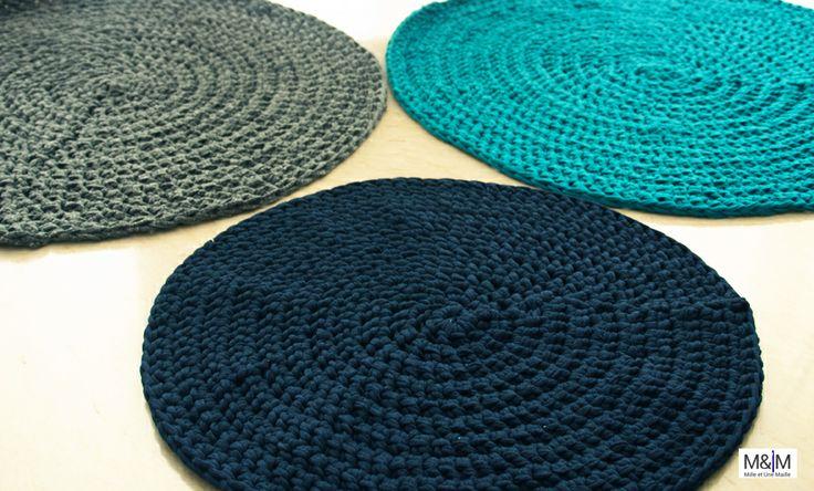 tapis trapilho camaieu