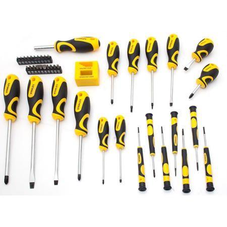 stanley 42 piece screwdriver set work screwdriver sets pint. Black Bedroom Furniture Sets. Home Design Ideas
