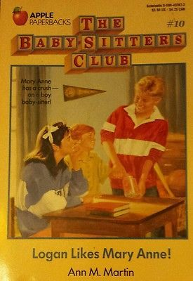 The Baby-Sitters Club Logan Likes Mary Anne! FREE AUS POST good used cond PB1988