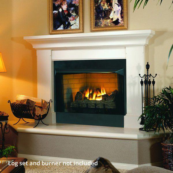 Superior Vrt2000 Ventless Firebox In 2020 Wood Burning Fireplace