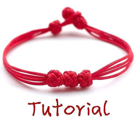 eBook (Apple of the eye) - Tutorial to Chinese knot bracelet Friendship Bracelet/Wish Bracelet-Instant download Pattern- FREE SHIPPING