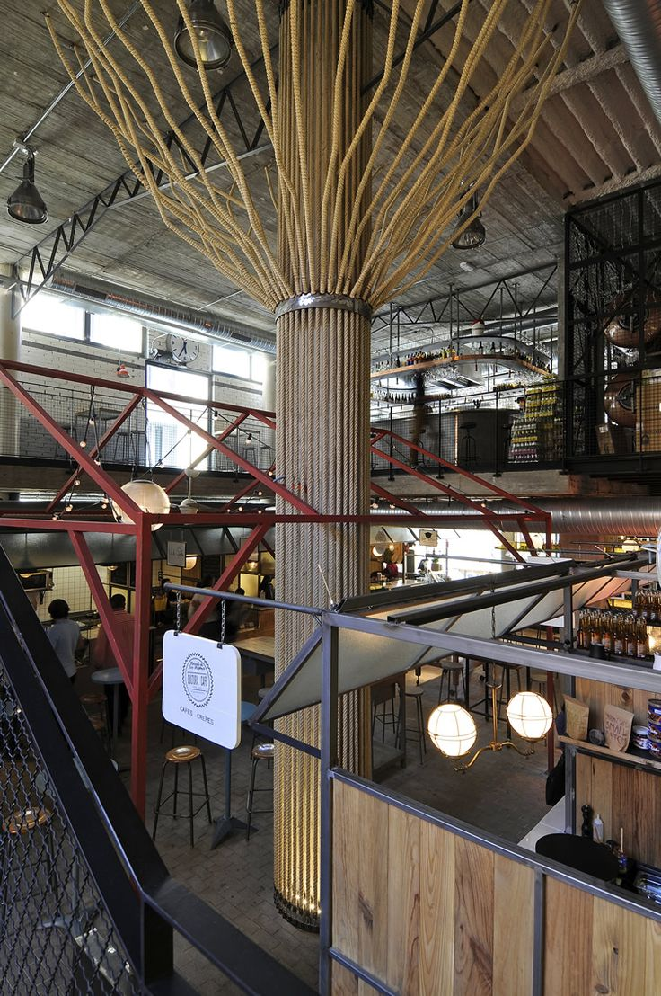 Madrid's Mercado de San Ildefonso breaks the mould, delivering the country's first street food market ‪#‎MustSeeMadrid...‬ http://www.we-heart.com/2014/10/23/mercado-san-ildefonso-malasana-madrid/