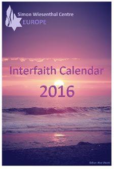 "Centre Simon Wiesenthal's Annual Calendar ""Every Day a Celebration"" | Simon Wiesenthal Center"