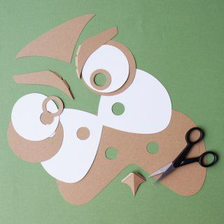 Un masque de hibou pour le carnaval - Marie Claire Idées