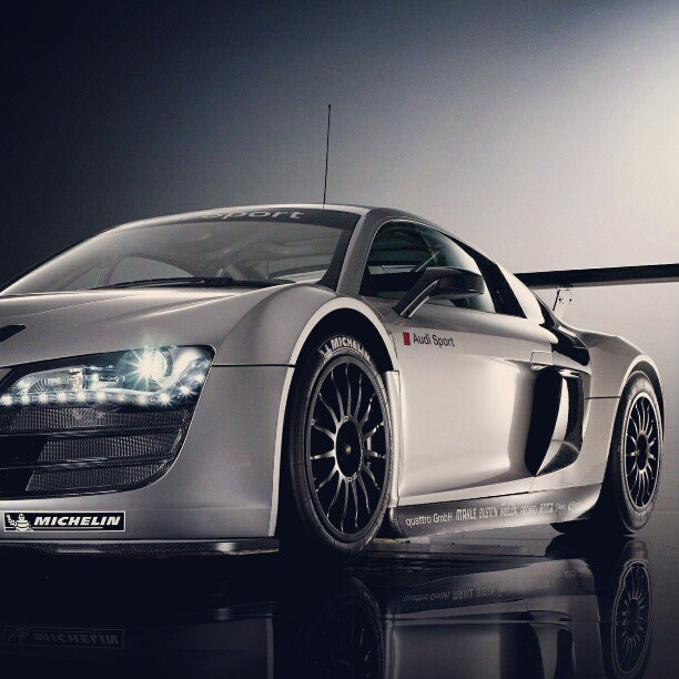 Epic. Audi R8.