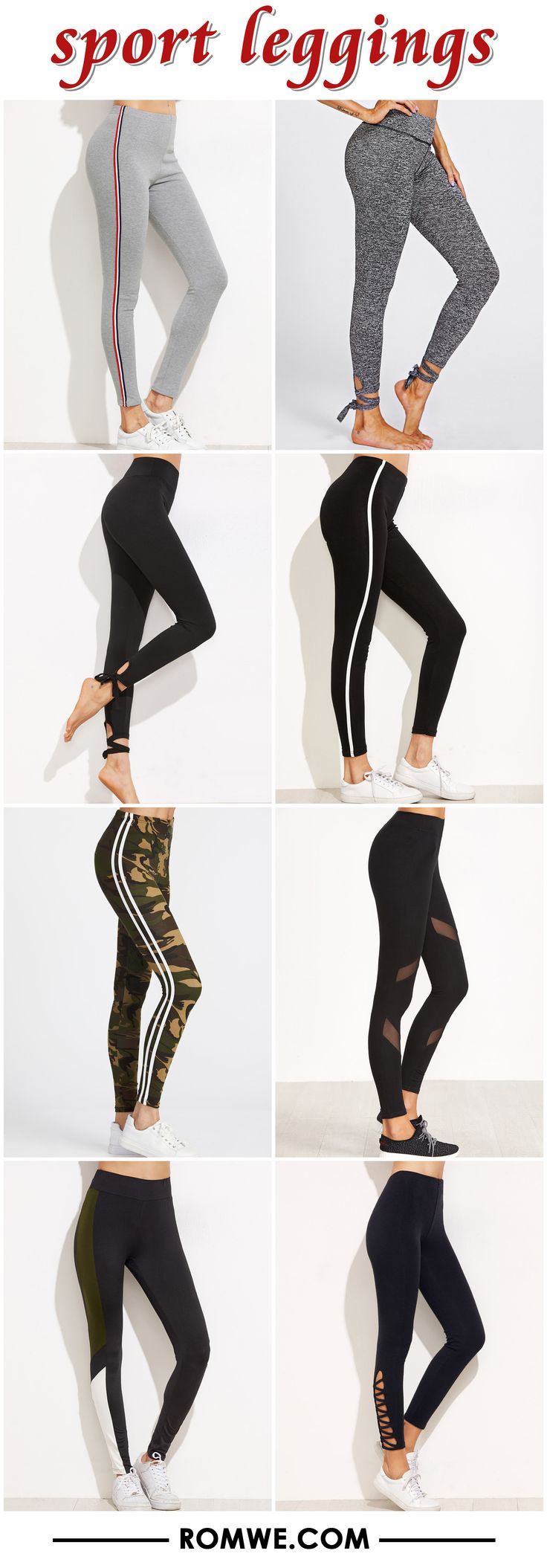 sport leggings from romwe.com